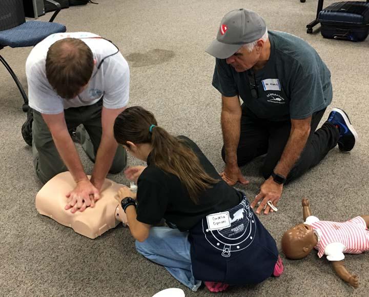 CPR Practice