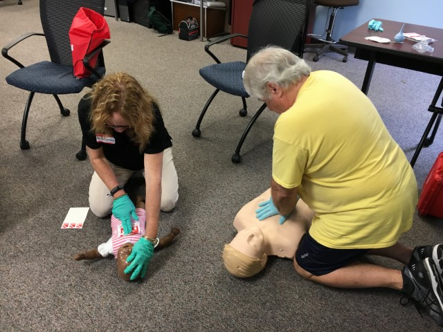 "Parents learn CPR alongside our Nauts. ""The life you save may be MY own!"" --Mike Waugh, long-time leader and supporter of SCUBAnauts."