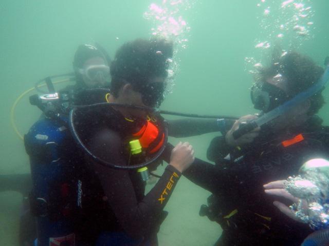 Sci-Diver Training at Lake Denton 2019