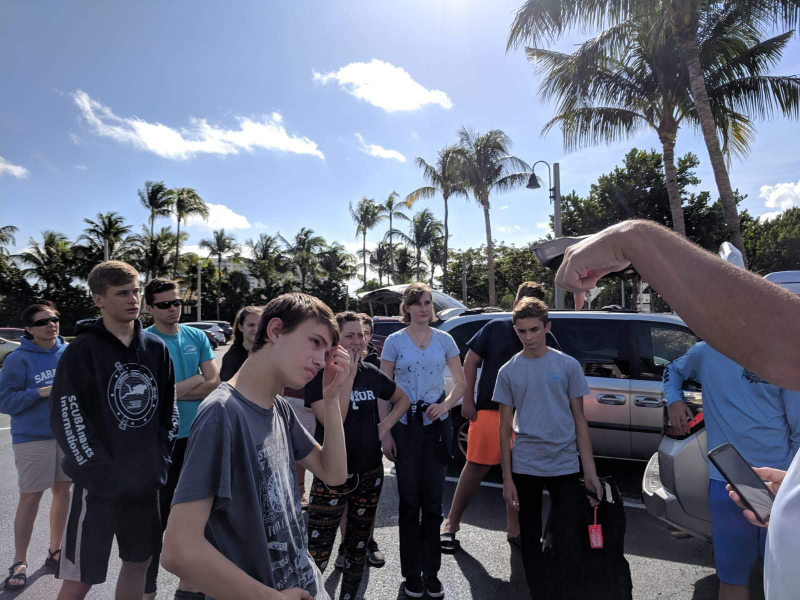SCUBAnauts Shark Tagging Dive 2018 - Briefing