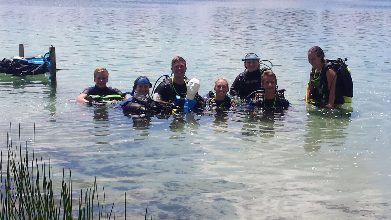 Nauts Build Dive Skills and Confidence with Rescue Training