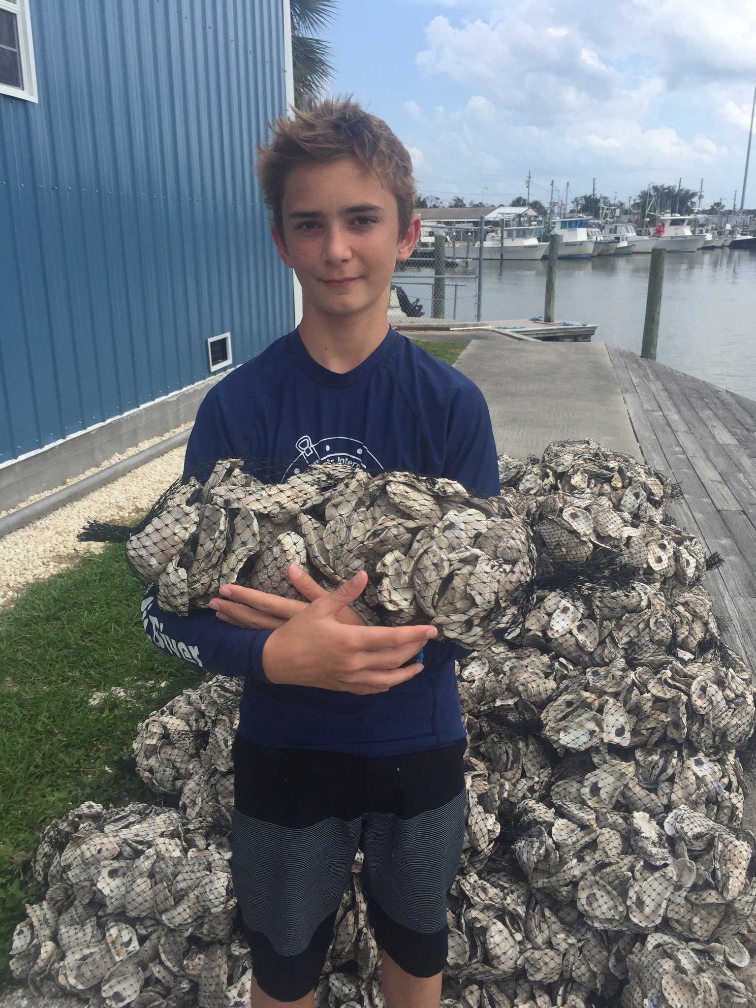 SCUBAnauts Construct Oyster Reef with Hernando County