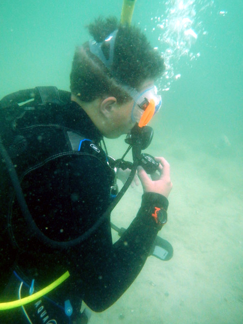 Sci-Diver Trains Teens as Scientists