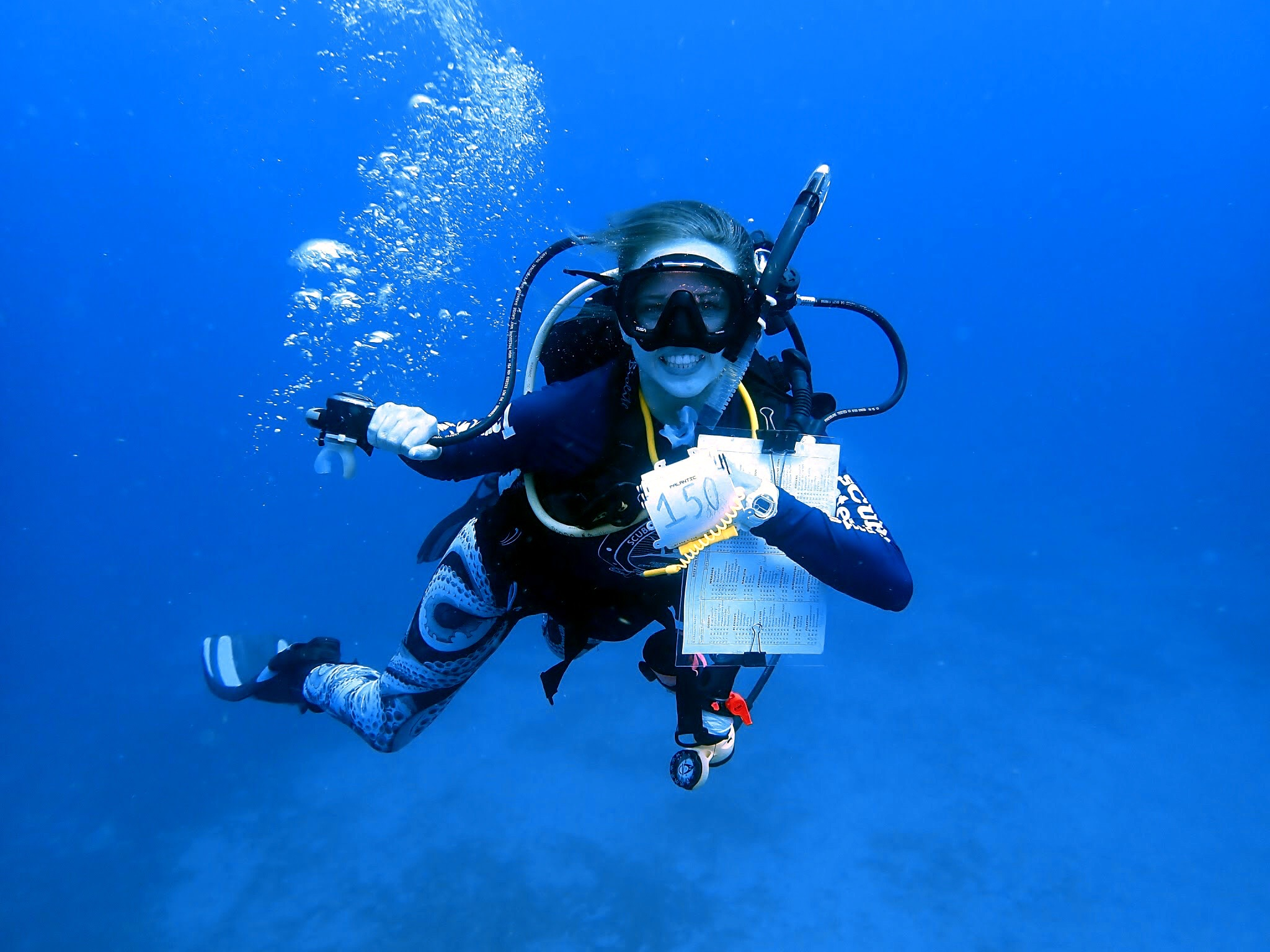 diver 150 dives